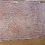 MARMANDE : dessin sur film plastique