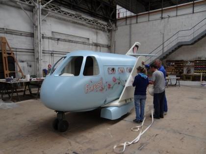 Avion de Florence Forersti