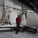 Making-Of Avion Barbie Foresti